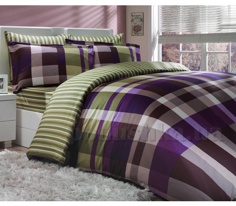 Постельное белье Hobby Exclusive Sateen Escale фиолетовый