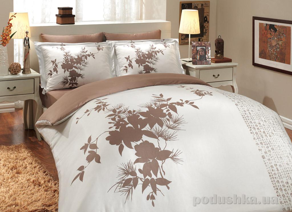 Постельное белье Hobby Exclusive Sateen Estate коричневое