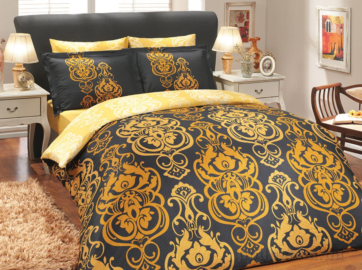 Постельное белье Hobby Exclusive Sateen Monart золотистое