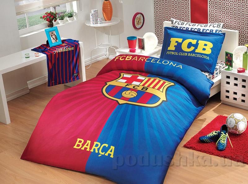 Постельное белье Hobby License Ranforce Barcelona Flag
