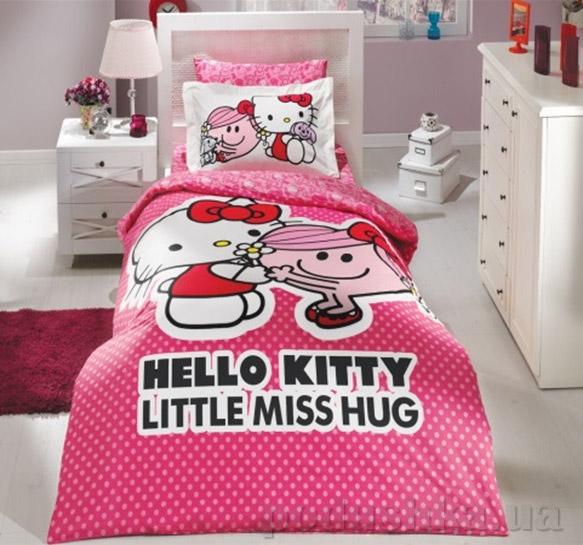 Постельное белье Hobby License Ranforce Hello Kitty розовое
