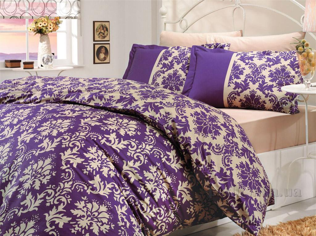 Постельное белье Hobby Poplin Avangarde фиолетовое