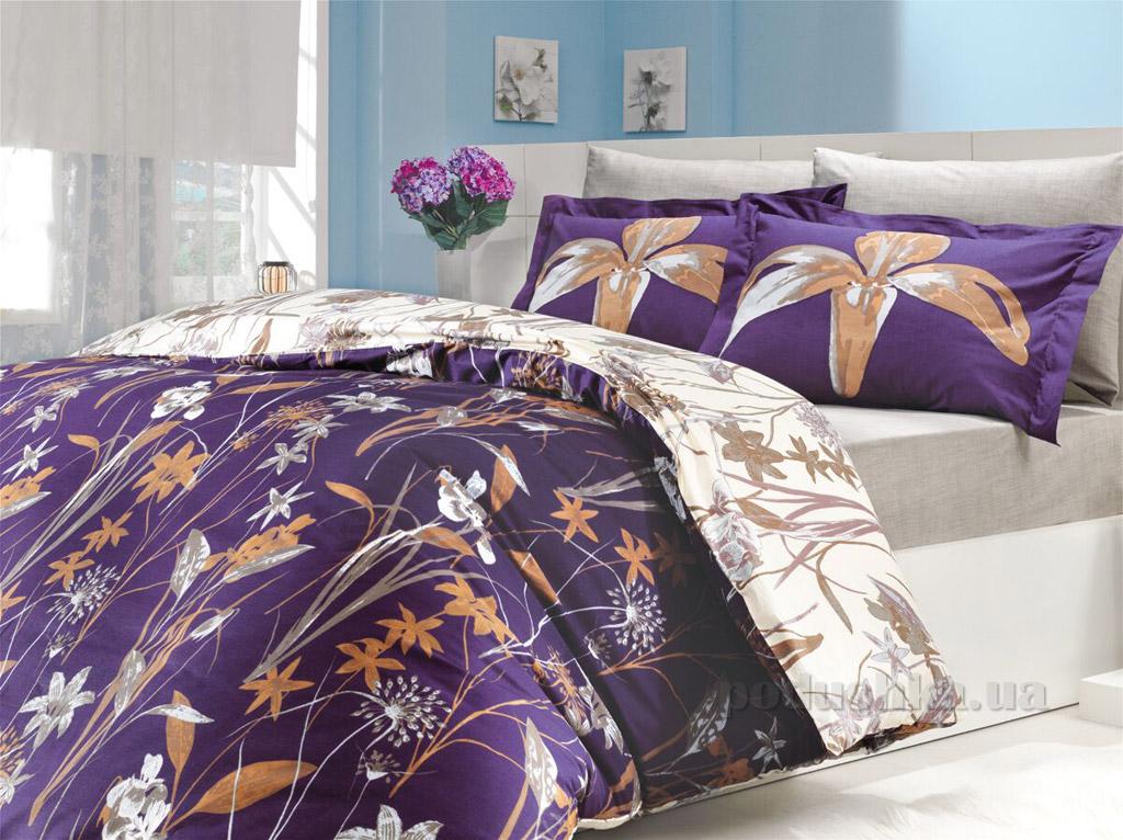 Постельное белье Hobby Poplin Clarinda фиолетовое