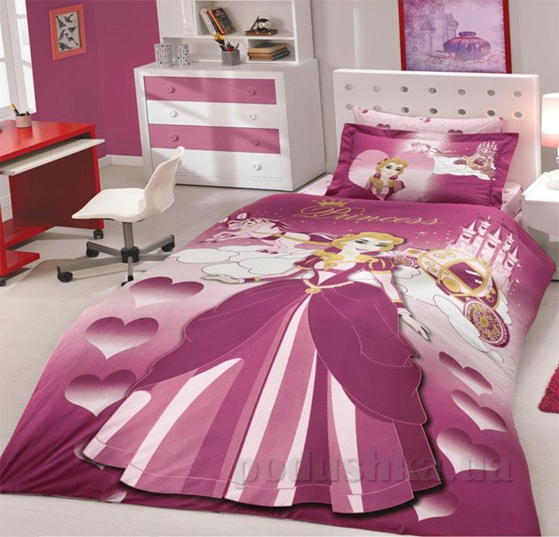 Постельное белье Hobby Poplin Lady Темно-розовое