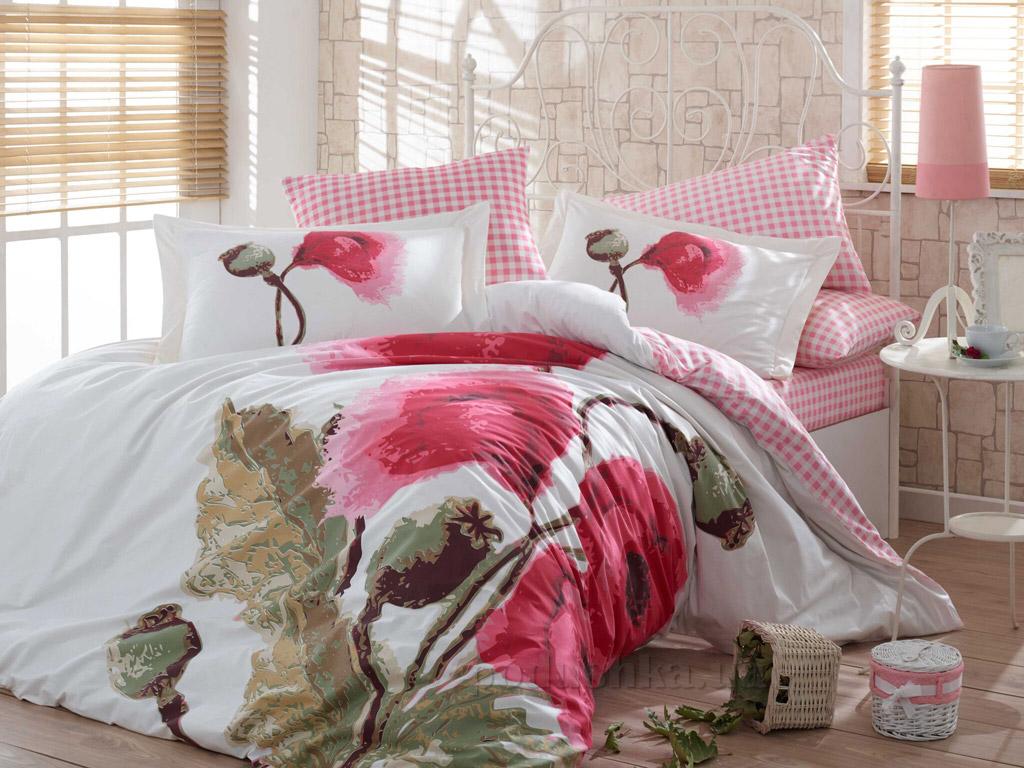 Постельное белье Hobby Poplin Miray розовое