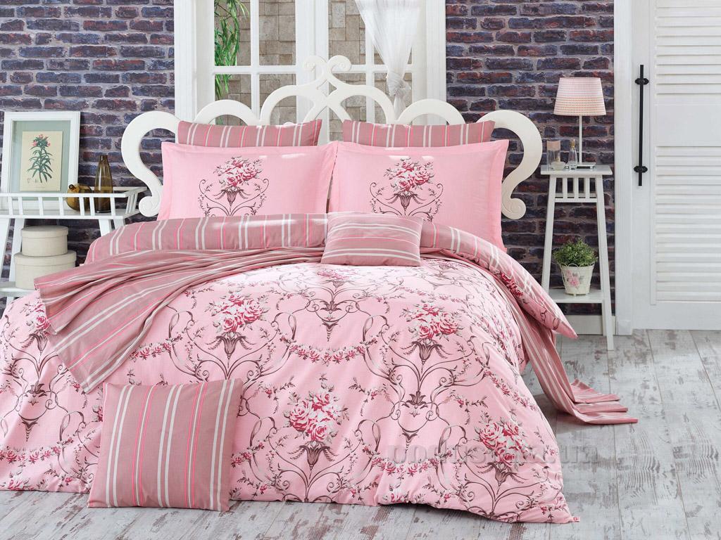 Постельное белье Hobby Poplin Ornella розовое