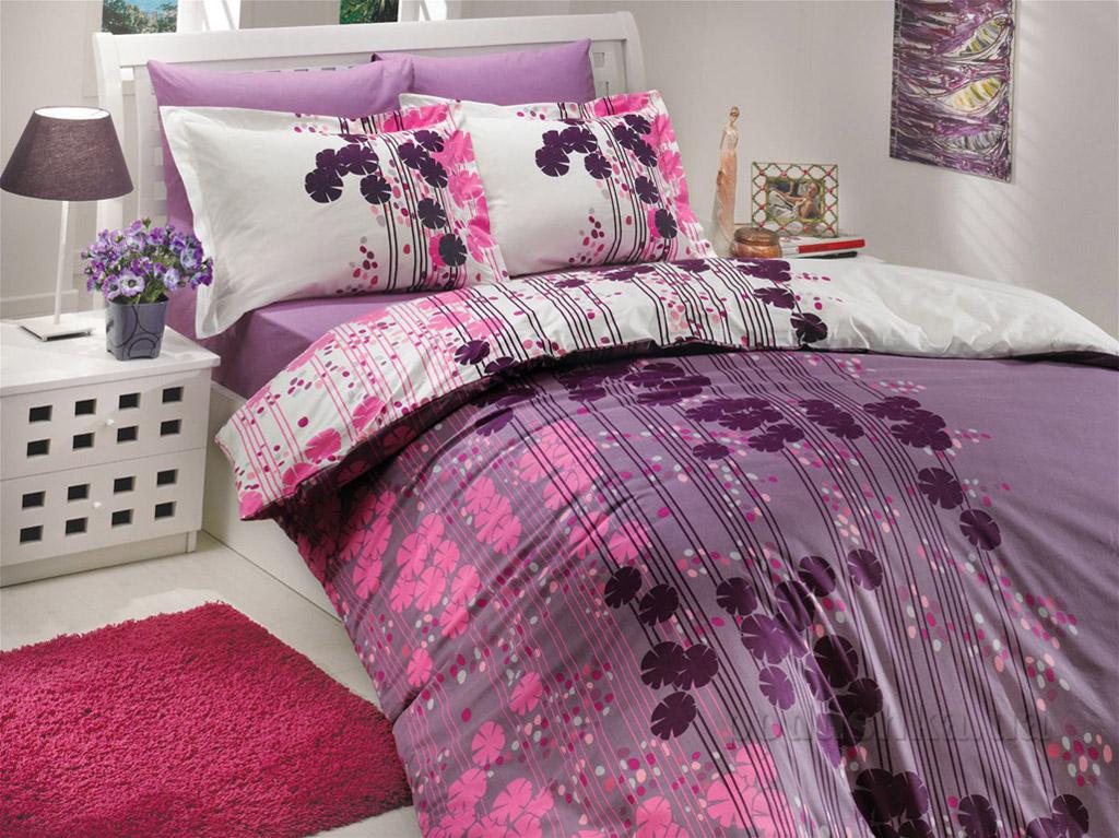 Постельное белье Hobby Poplin Ventura лиловое