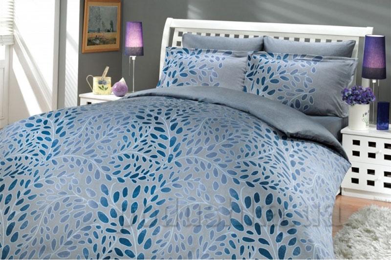 Постельное белье Hobby Premium Sateen Caroline голубой