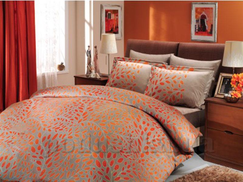 Постельное белье Hobby Premium Sateen Caroline оранжевый