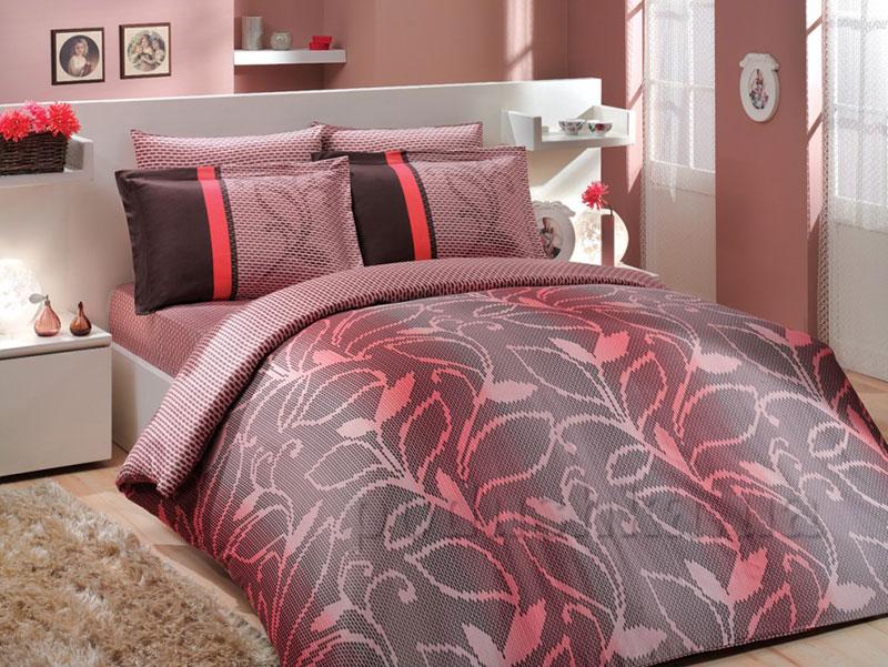 Постельное белье Hobby Premium Sateen Valance розовый