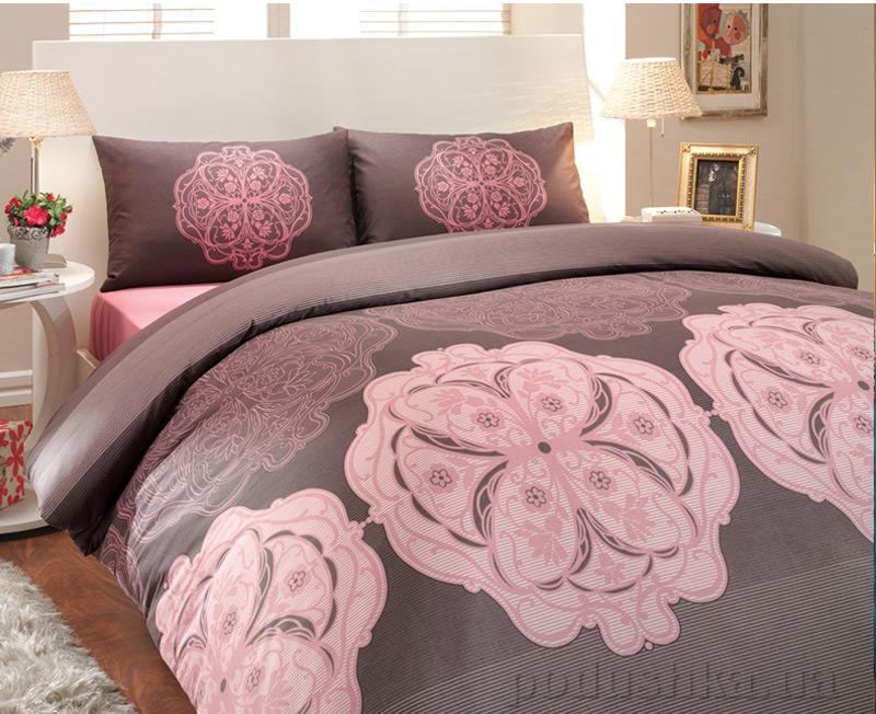 Постельное белье Hobby Ranforce Lenox розовый