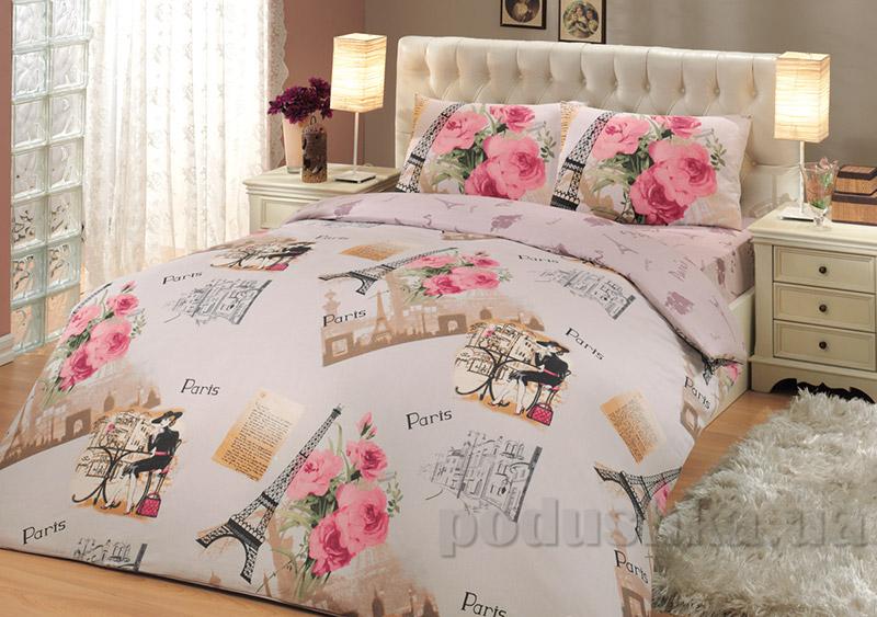 Постельное белье Hobby Ranforce Paris розовое