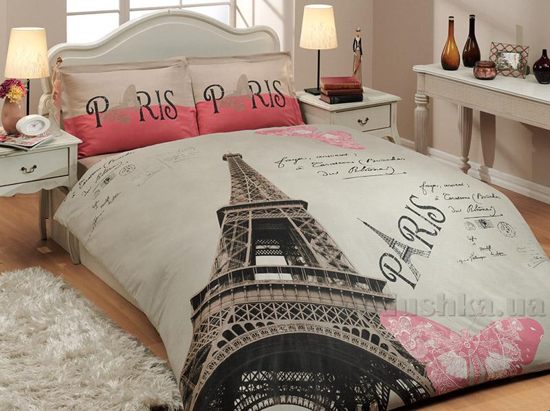Постельное белье Hobby Sateen Deluxe Paris бежевое