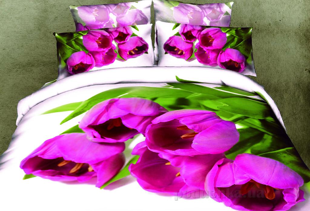 Постельное белье Home line Букет тюльпанов