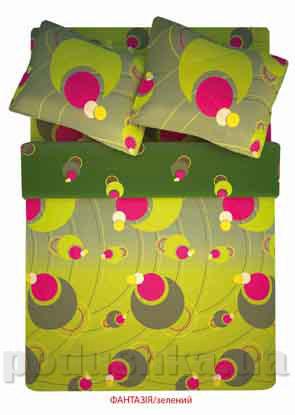 Постельное белье Home line Фантазия зеленое