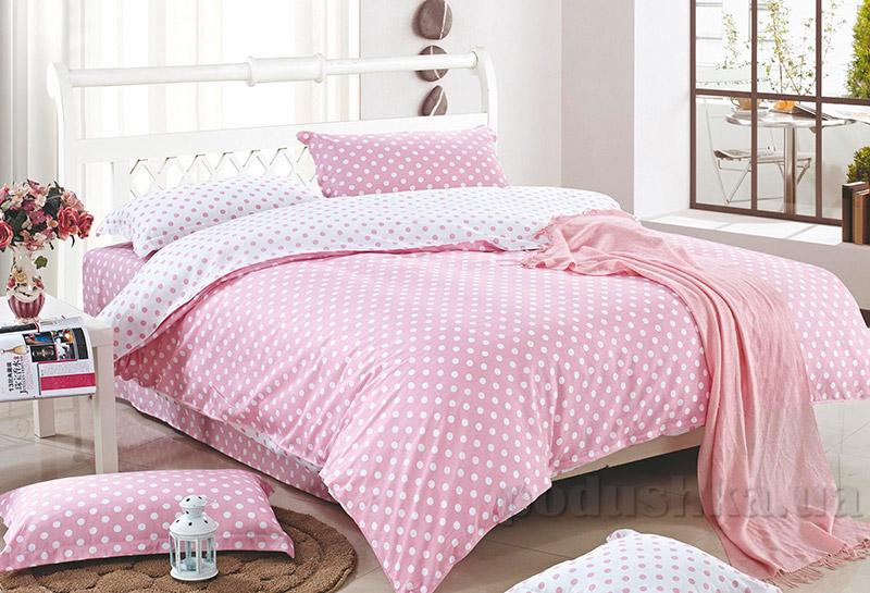 Постельное белье Home line Каролина розовое
