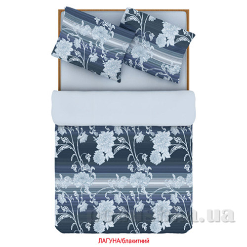 Постельное белье Home line Лагуна голубое