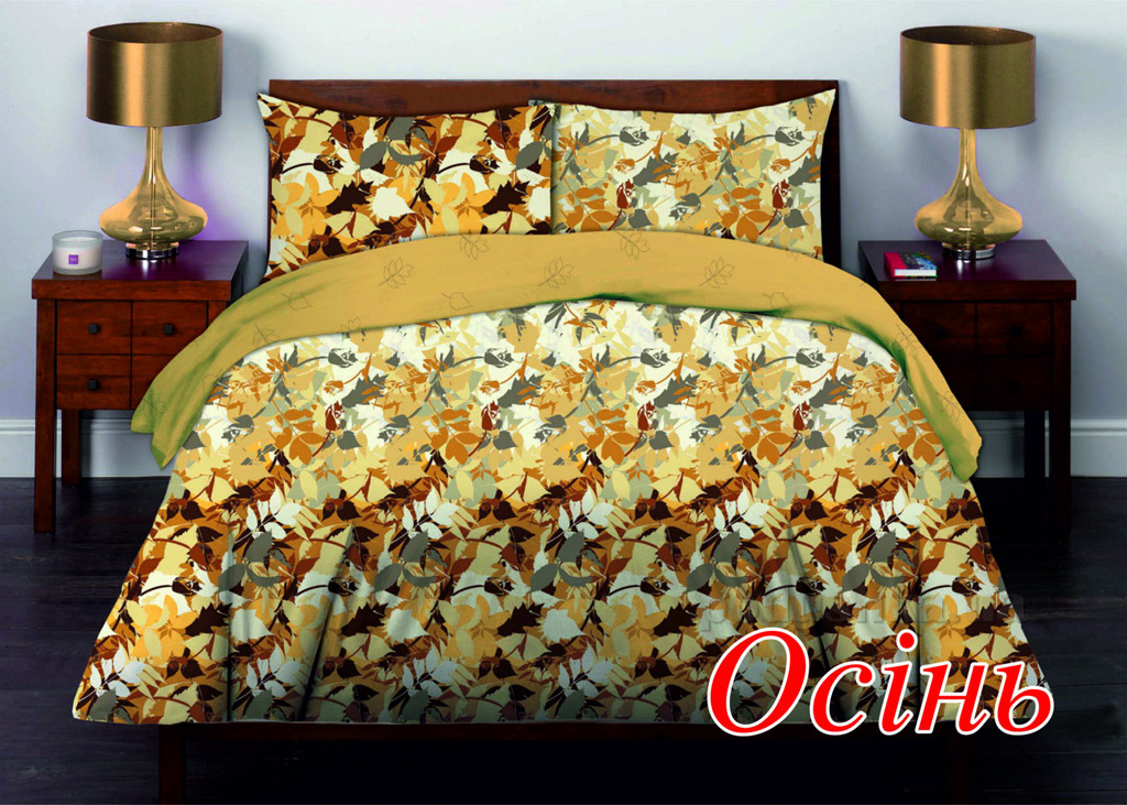 Постельное белье Home line Осень Двуспальный комплект наволочки 50х70 см Home line