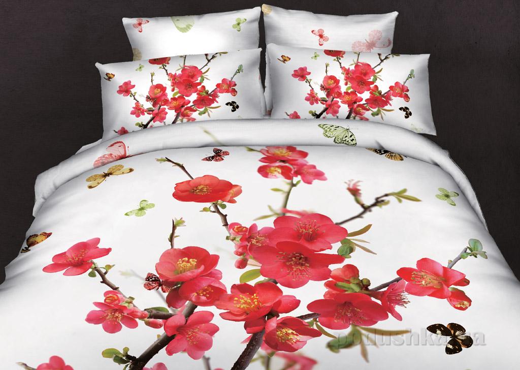 Постельное белье Home line Цветы сакуры