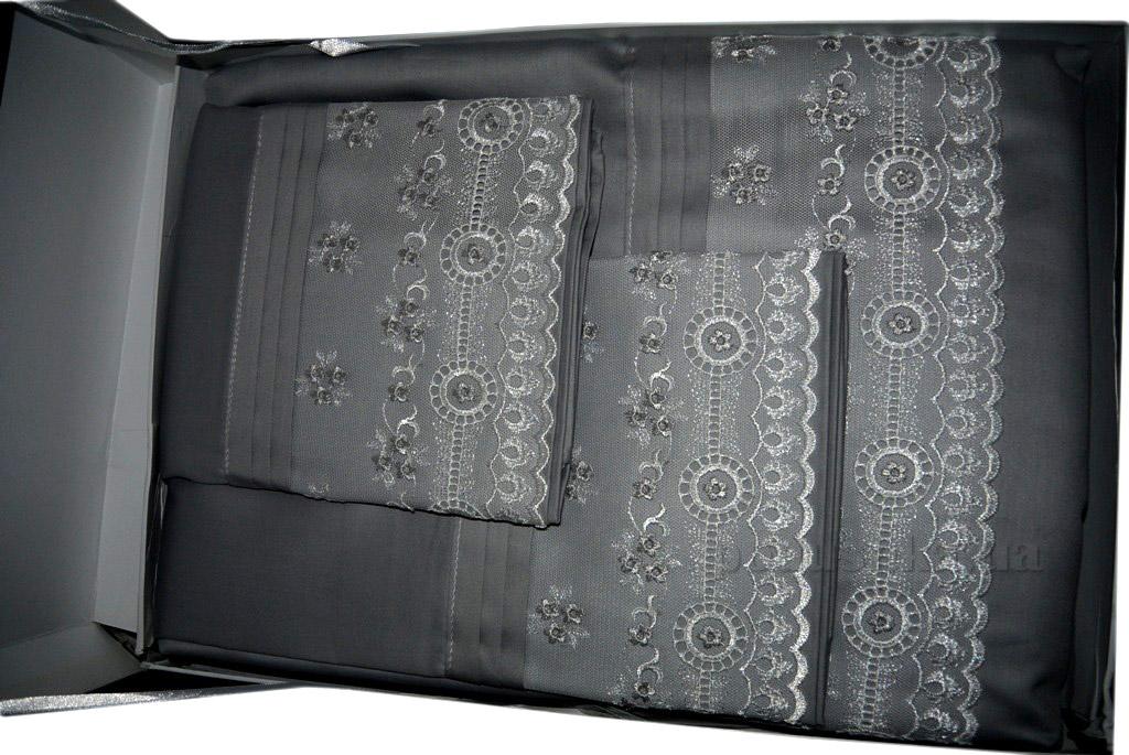 Постельное белье Ipekce Valentine gray