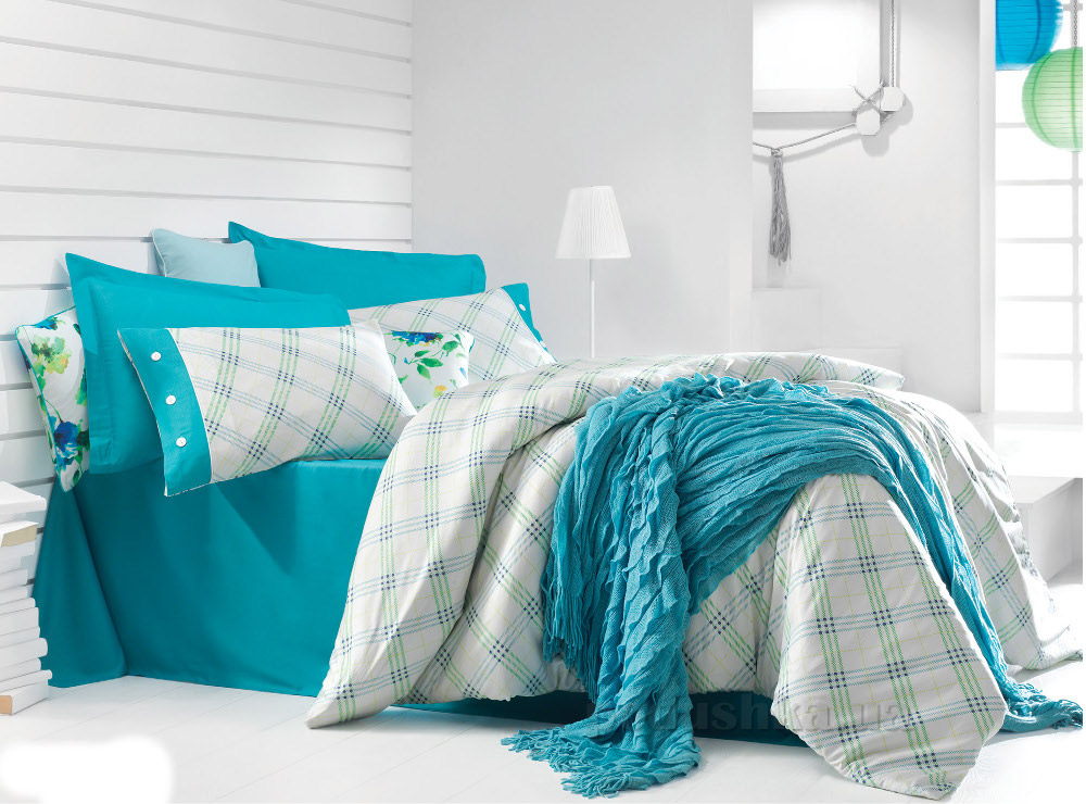 Постельное белье Issimo Sandera turquoise