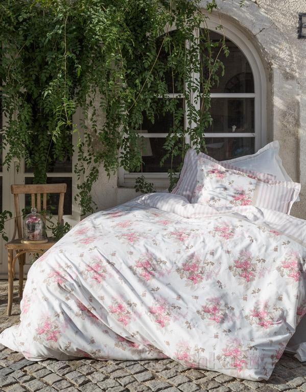Постельное белье Karaca Elena розовое