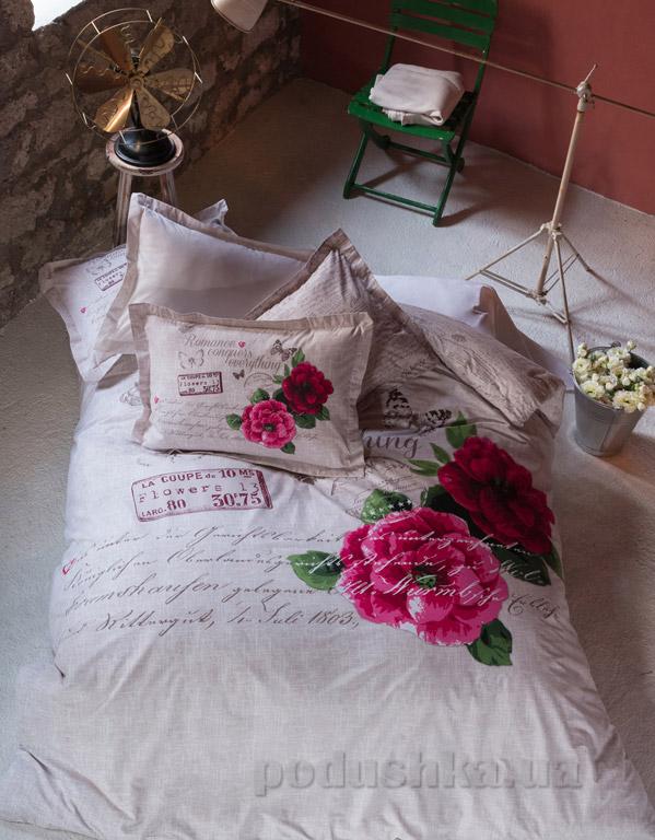 Постельное белье Karaca Romance бежевое
