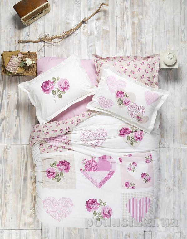 Постельное белье Karaca Sherry розовый