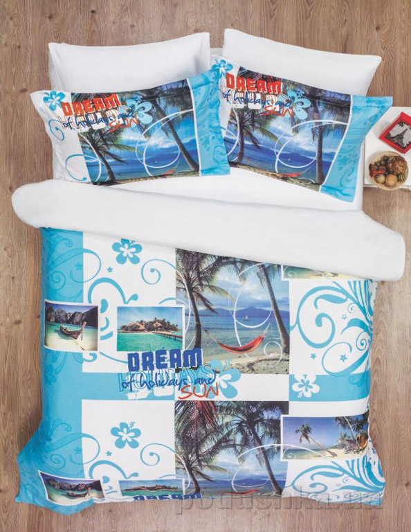 Постельное белье Le Vele Dream Двуспальный евро комплект  Le Vele