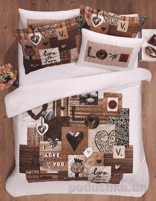 Постельное белье Le Vele Love Двуспальный евро комплект  Le Vele