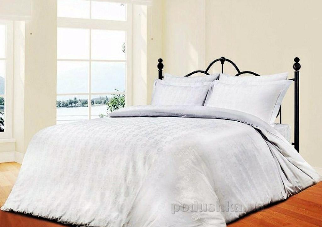 Постельное белье Le Vele Royal white Двуспальный евро комплект  Le Vele