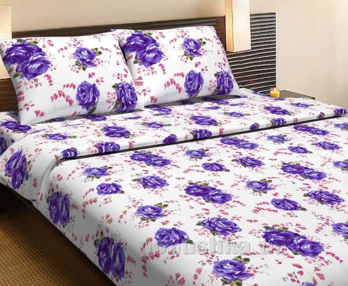 Постельное белье Lotus Life Agnes фиолетовое