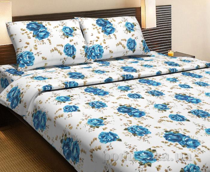 Постельное белье Lotus Life Agnes синее