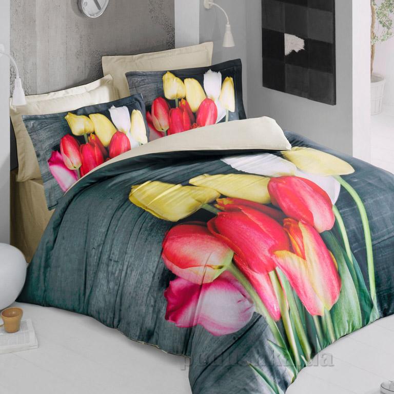 Постельное белье Luoca Patisca 3D Tulip