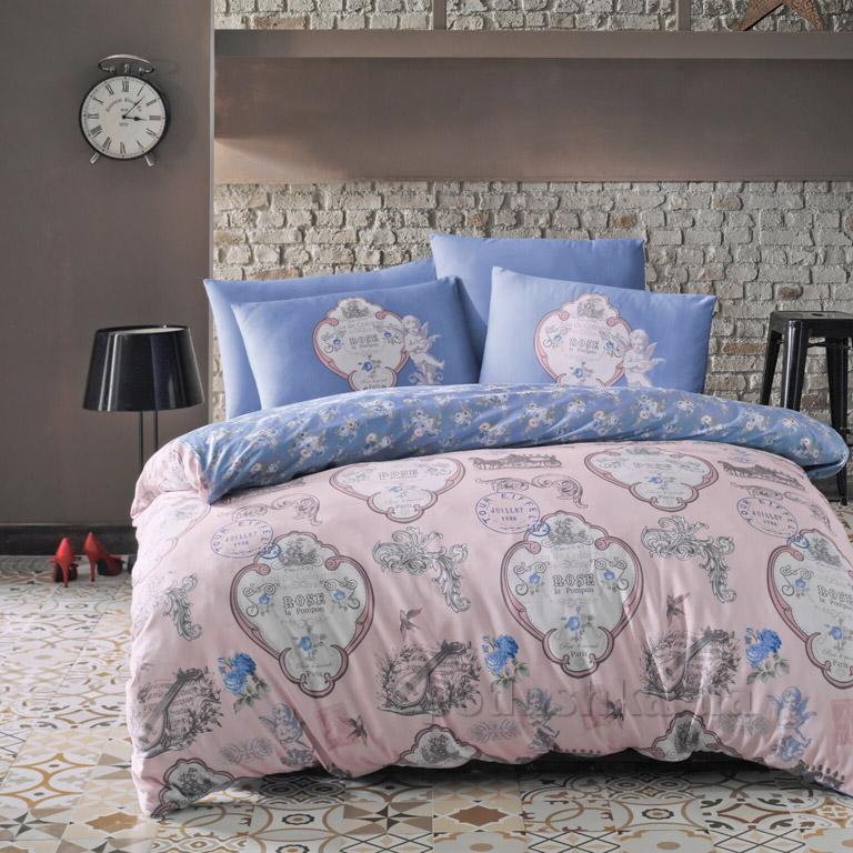 Постельное белье Luoca Patisca Yoanna голубое