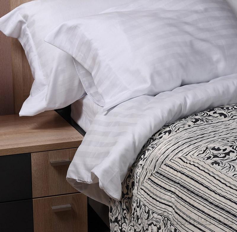Постельное белье Marca Marco Milano White Stripe