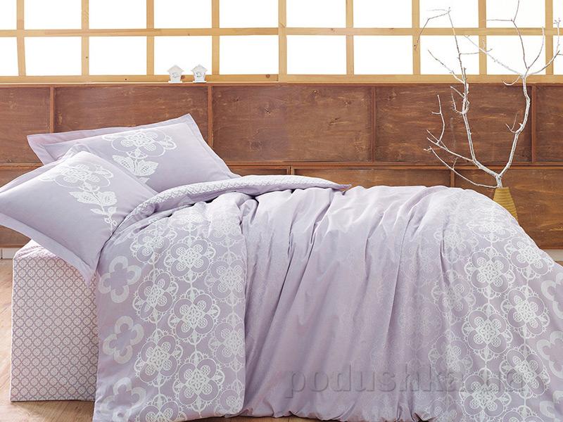 Постельное белье Marie Claire Clover Lace лиловое