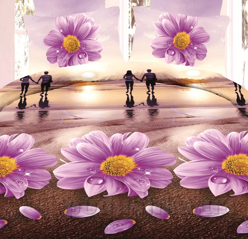 Постельное белье микрофибра 3D Bella Donna BV-M-0063 Eu