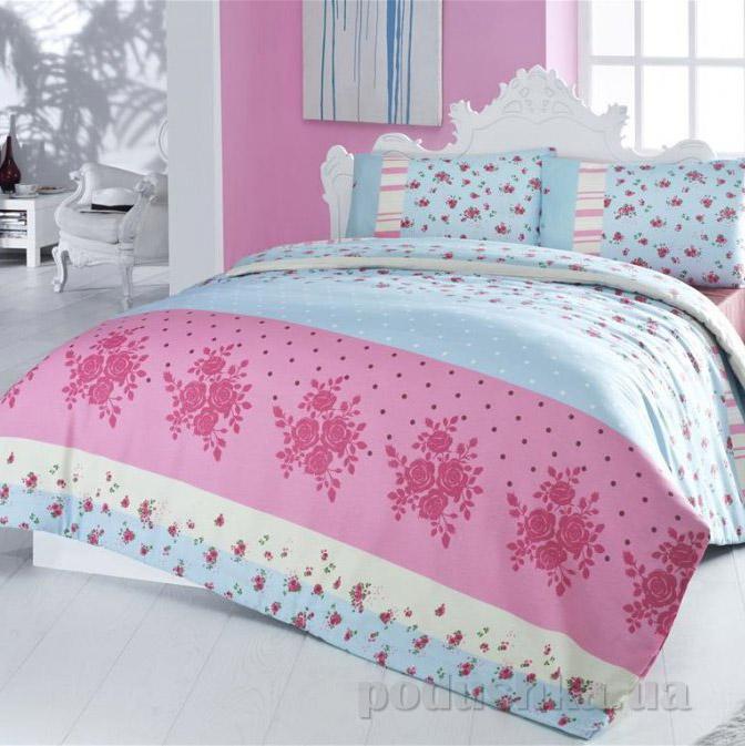 Постельное белье Nazenin Cottonland Aksana розовое