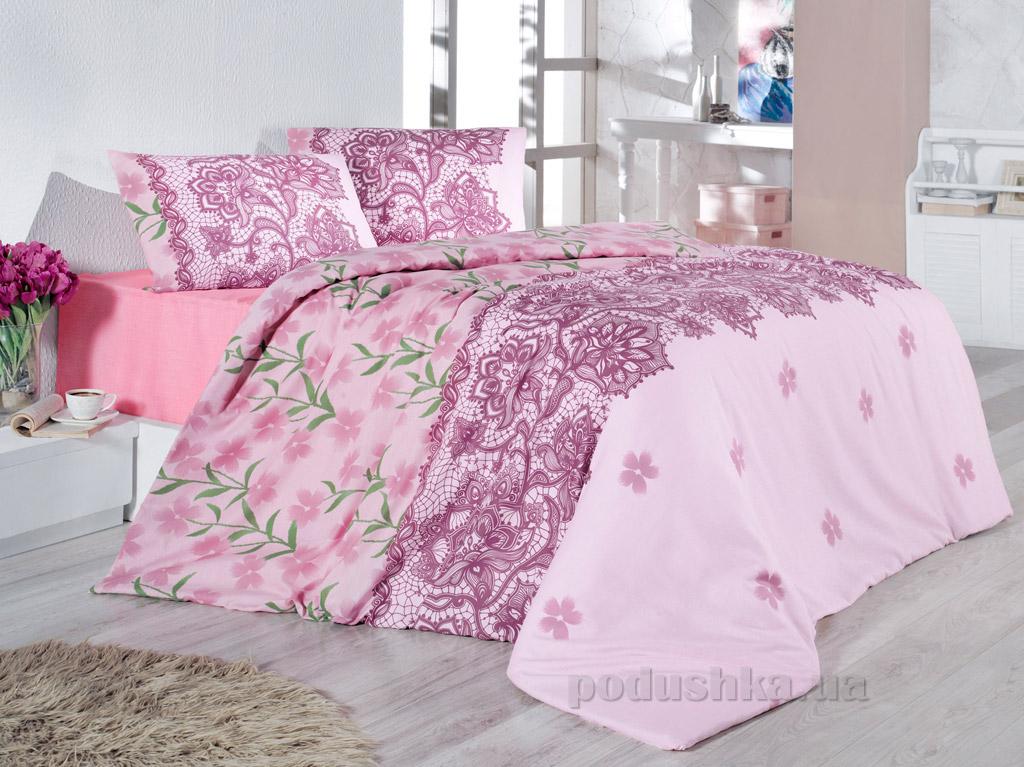 Постельное белье Nazenin Cottonland Laryssa розовое
