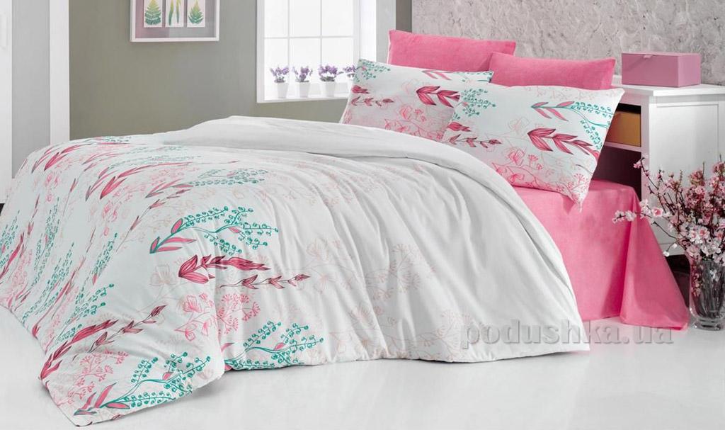 Постельное белье Nazenin Olivia розовое