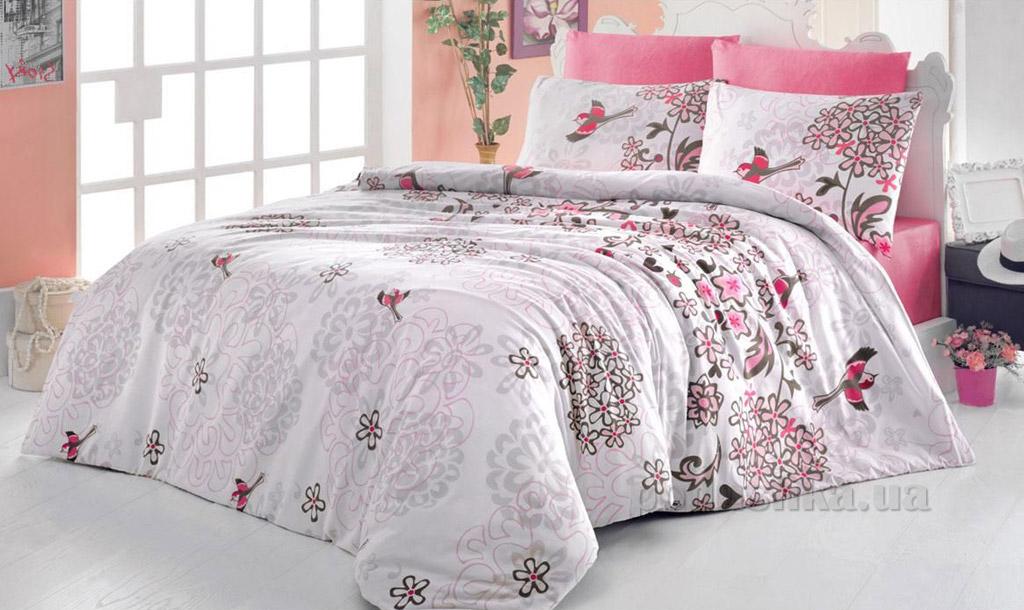 Постельное белье Nazenin Sara розовое