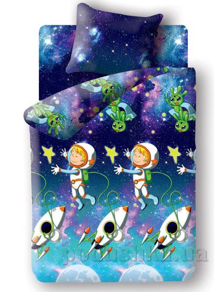Постельное белье Непоседа Космонавт