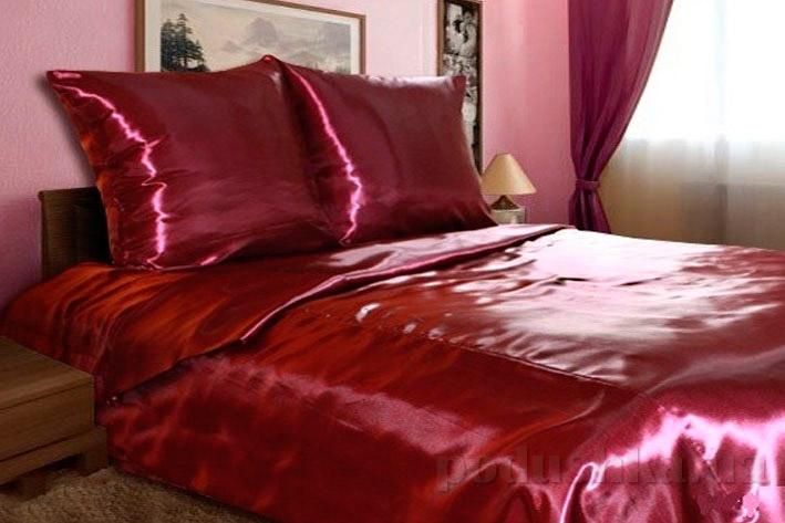 Постельное белье Perrini Манчестер бордовое