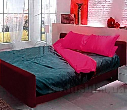 Постельное белье Perrini Вираж черно-красное