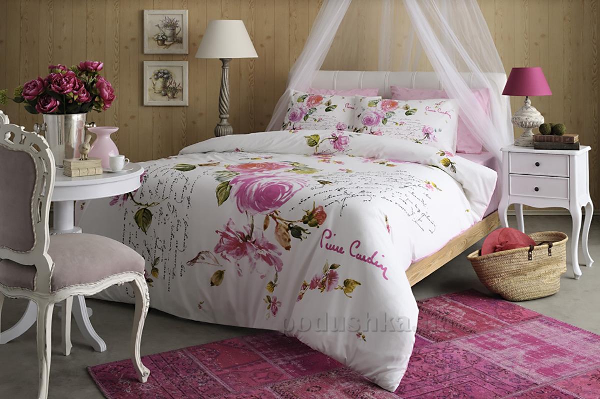 Постельное белье Pierre Cardin Sofia V01 розовое
