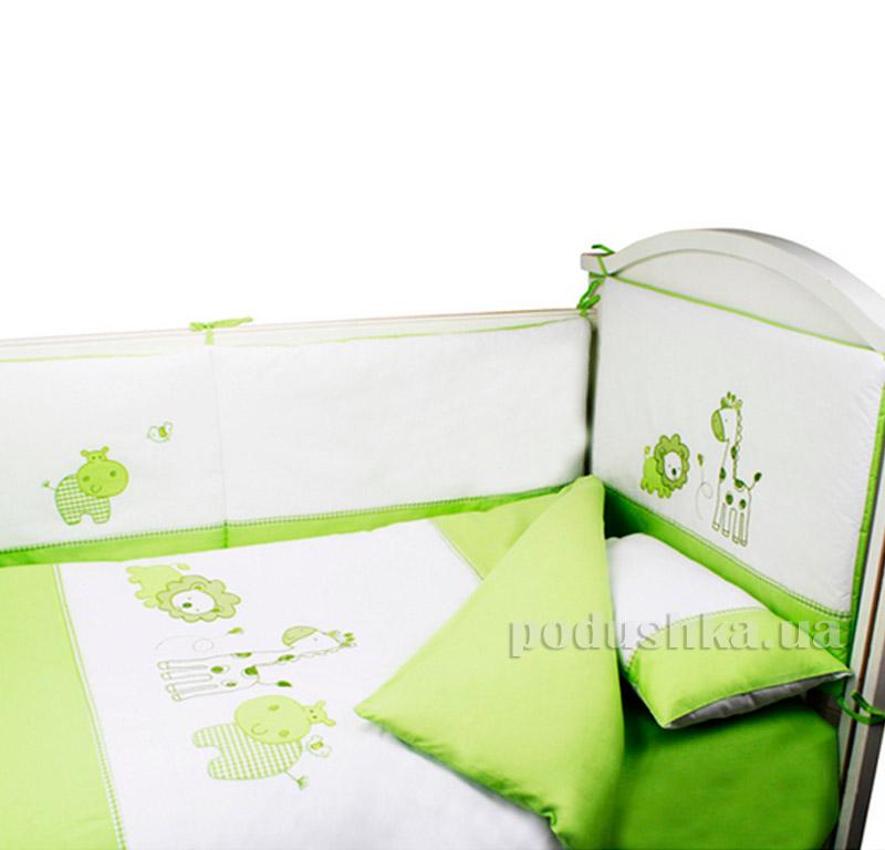 Постельное белье Pulsante Green 8295