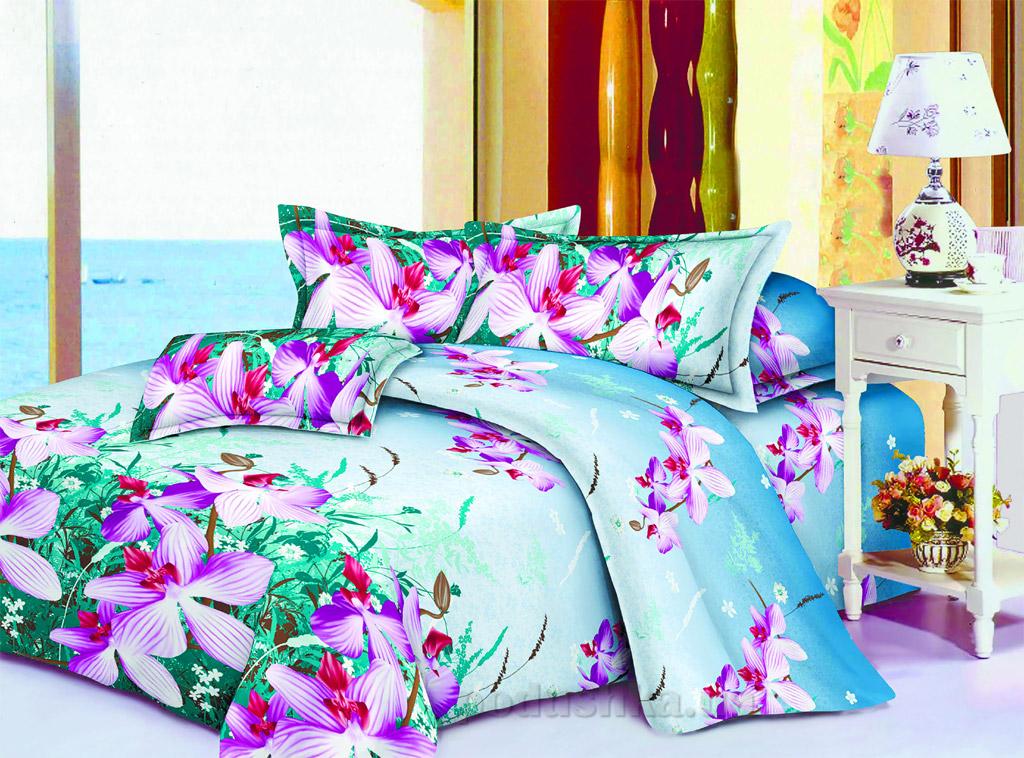 Постельное белье Restline Дикая орхидея 106 Полуторный комплект  Restline