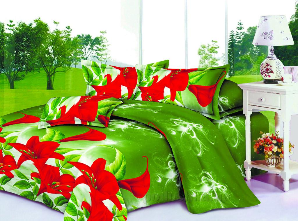 Постельное белье Restline Лилия 101 Полуторный комплект  Restline