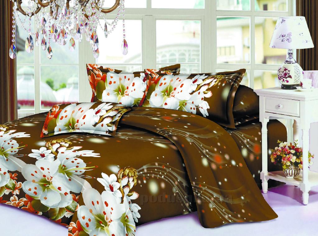 Постельное белье Restline Вишневое цветение 100 Полуторный комплект  Restline